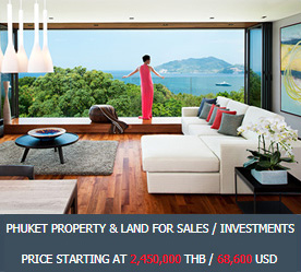 Phuket Property & Land for Sales / Investments