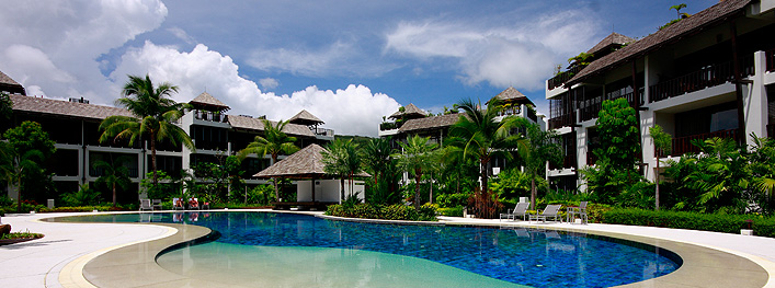 Bang Tao Beach Gardens Apartments Communal Pool