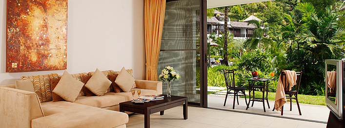 Bang Tao Beach Gardens Apartments Garden Level Lounge
